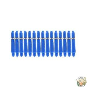 Bull's 5-Pack NYLON shaft X-Short + Ring - Blue