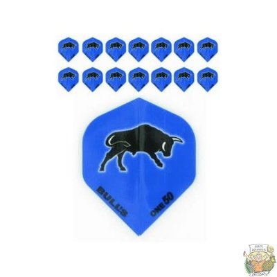 "Bull's 5-Pack ONE-50 Blue ""Bull Printed"""