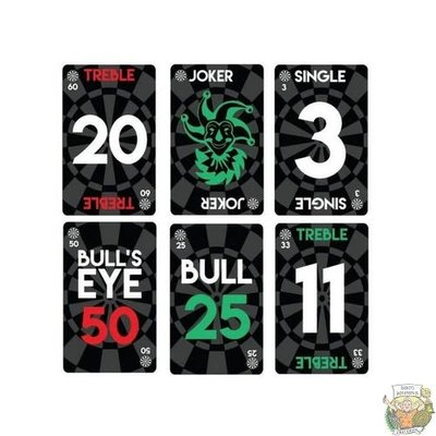 Bull's DEAL-A-DART playing cards