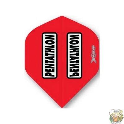 Mckicks Pentathlon Transp X180 Flight Std. - Red