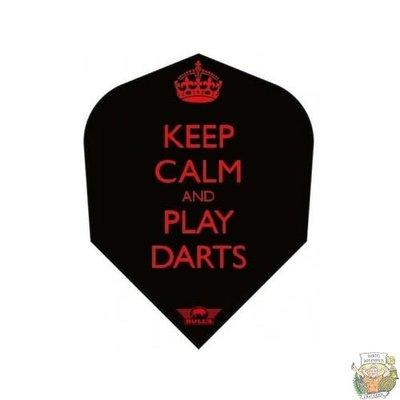 "Bull's POWERFLITE D ""Keep Calm and Play Darts"""
