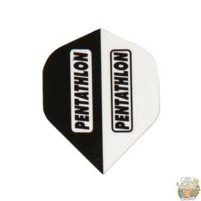 Mckicks Pentathlon Flight Std. - 2 Tone White & Black