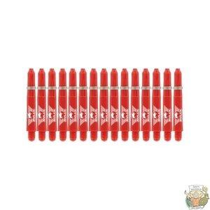 Bull's 5-Pack NYLON shaft Short + Ring - Red