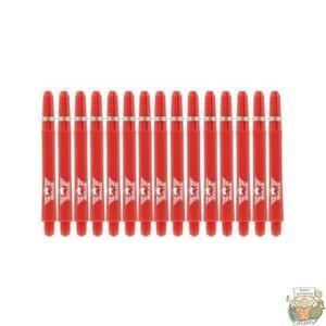 Bull's 5-Pack NYLON shaft Medium + Ring - Red