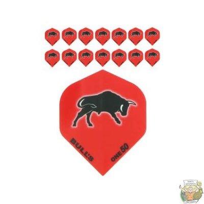 "Bull's 5-Pack ONE-50 Red ""Bull Printed"""