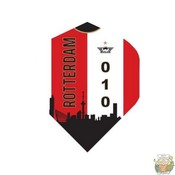 """Bull's POWERFLITE D """"Rotterdam Skyline Red"""""""