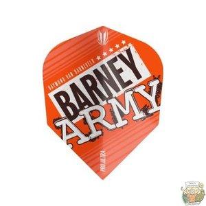 Target Barney Army Pro Ultra Orange Ten-X Flight