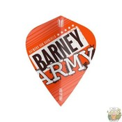 Target Barney Army Pro Ultra Orange Kite Flight