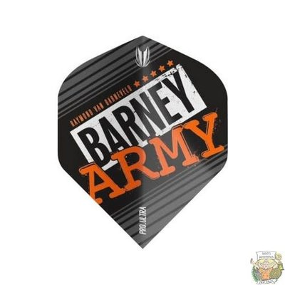 Target Barney Army Pro Ultra Black Std. Flight