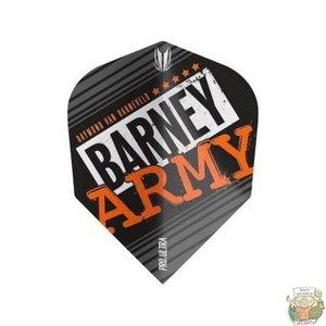 Target Barney Army Pro Ultra Black Std.6 Flight