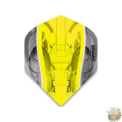 Mckicks Pentathlon Silver Edge Std. Yellow