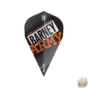 Target Barney Army Pro Ultra Black Vapor Flight