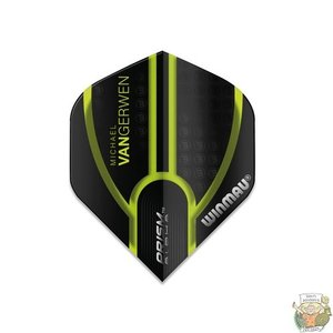 Winmau Prism Alpha MvG Black Green