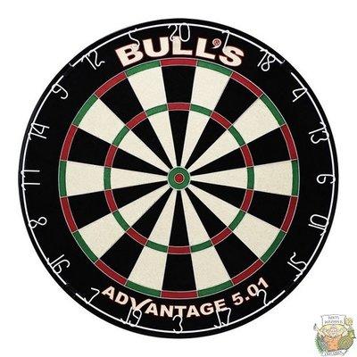 Bull's ADVANTAGE 501 Dartboard incl.Clickfix Bracket