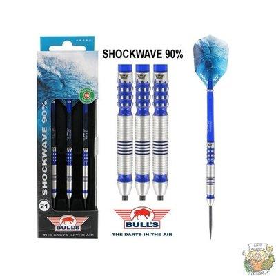 Bull's Shockwave 90% 23g Steeltip