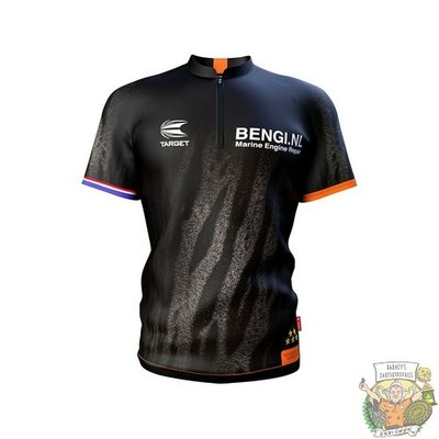 Target XX-LARGE - Coolplay Collarless Shirt Raymond van Barneveld