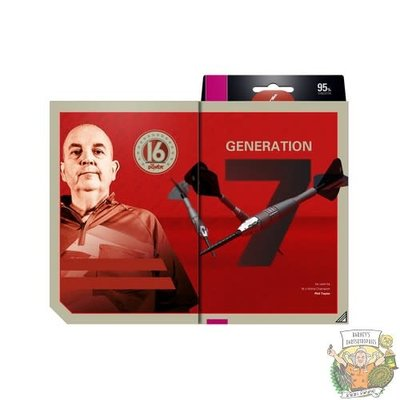 Target Phil Taylor Power 9Five 95% Swiss G7 24 gram Steeltip