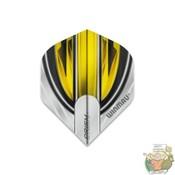Winmau Prism Alpha White & Yellow