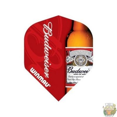 Winmau Budweiser Bottle Design NLD