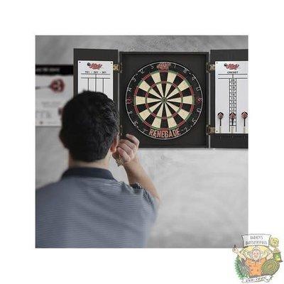 Shot Renegade Dartboard Cabinet Set