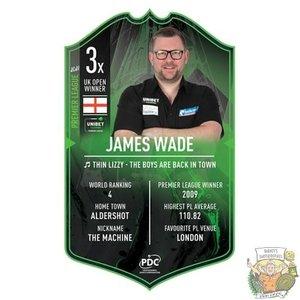 Ultimate Darts James Wade Premier League edition - Ultimate Darts Card