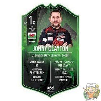 Ultimate Darts Jonny Clayton Premier League edition - Ultimate Darts Card