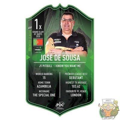 Ultimate Darts Jose de sousa Premier League edition - Ultimate Darts Card
