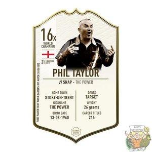 Ultimate Darts Phil Taylor LEGEND - Ultimate Darts Card