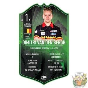Ultimate Darts Dimitri van den Bergh Premier League - Ultimate Darts Card