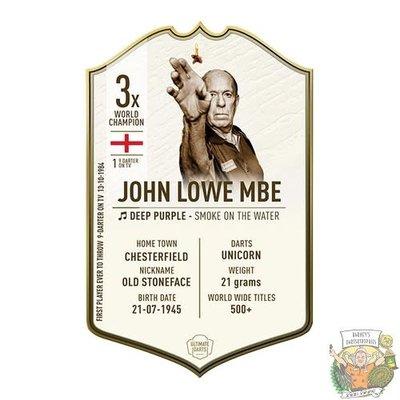 Ultimate Darts John Lowe LEGEND - Ultimate Darts Card