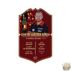 Ultimate Darts Dimitri van den Bergh - Ultimate Darts Card