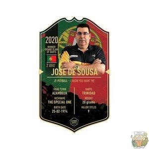 Ultimate Darts Jose de Sousa - Ultimate Darts Card