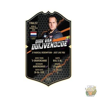 Ultimate Darts Dirk van Duijvenbode - Aubergenius - Ultimate Darts Card