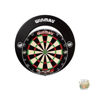Barney's Darts & Trophies Winmau Blade 5 + surround black print SET