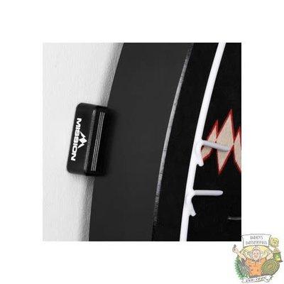 Mission Dartboard Wedges Black