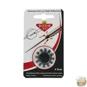 Winmau Trident 180 Nose Cones Black NLD