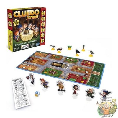 Spelletjes Cluedo - Junior editie