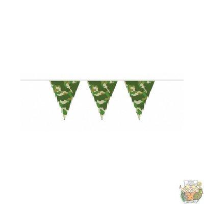 Thimble Vlaggenlijn 10 m. camouflage
