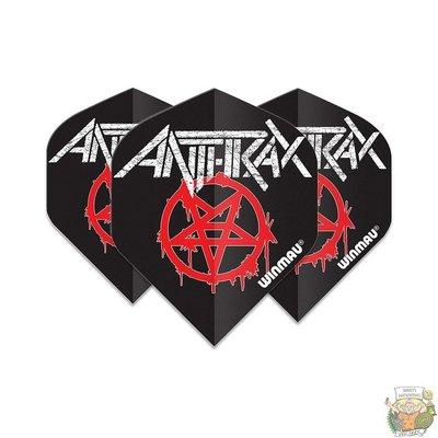 Winmau Anthrax Logo Winmau Rockstar flights
