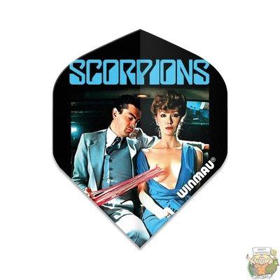 Winmau Scorpions love Drive Winmau Rockstar flights