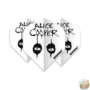 Winmau Alice Cooper White Winmau Rockstar flights