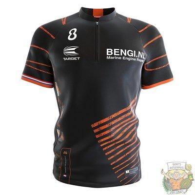 Target Coolplay Collarless Shirt 2022 Raymond van Barneveld XXX-Large