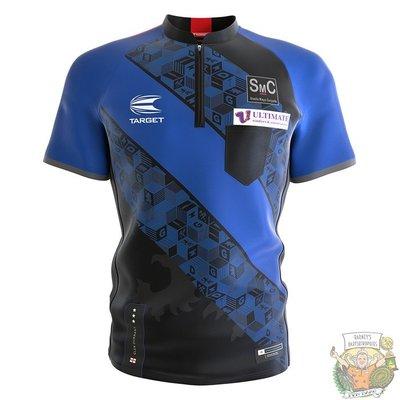 Target Coolplay Collarless Shirt 2022 Glen Durrant XXX-Large