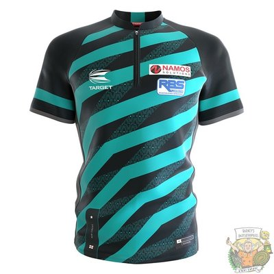 Target Coolplay Collarless Shirt 2022 Rob Cross XXXX-Large