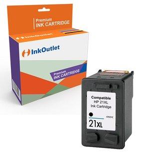 Huismerk HP 21XL inktcartridge Zwart