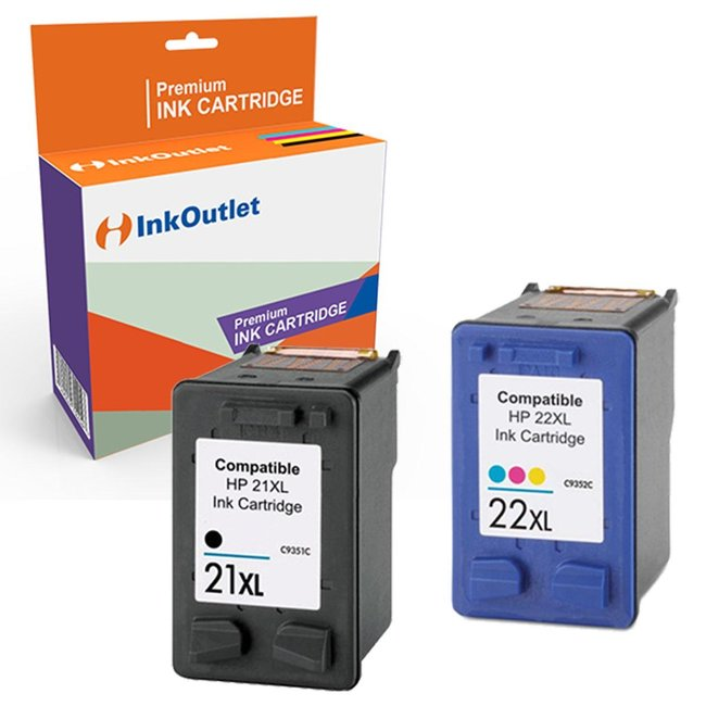 Huismerk HP 21XL - HP 22XL Multipack (2set)