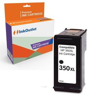 Huismerk HP 350XL inktcartridge Zwart