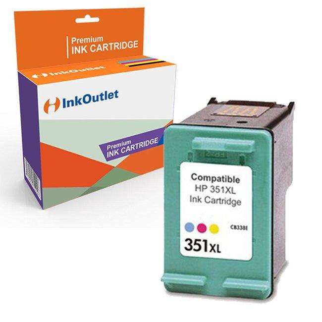 Huismerk HP 351XL inktcartridge Kleur