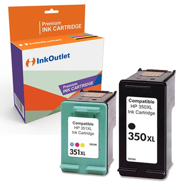 Huismerk HP 350XL zwart + HP 351XL kleur Multipack (2set)