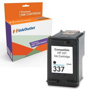 Huismerk HP 337XL inktcartridge Zwart